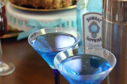 Blue On Blue Martini
