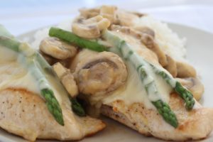 Chicken Madeira from The Organized Cook Weekly Meal Plan System