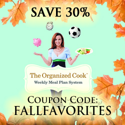 The Organized Cook Weekly Meal Plan System 30% Discount